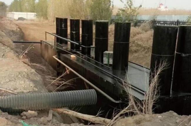 石河子63786部队生活污水AO+MBR+消毒