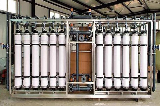 五彩湾加气站生活饮用水预处理+超滤+消毒